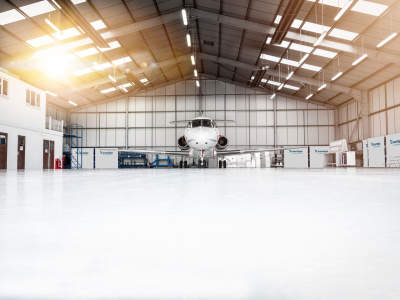 Skydrol resistant epoxy coating - Aviation Sector