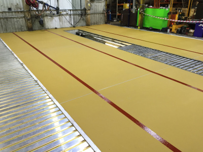6mm PU screed - Heavy Industry